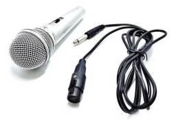 Microfone com Fio Dinâmico Tomate MT-1018