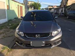 Honda Civic 2016 LXR GNV INJETADO - BANCO COURO! NOVO!