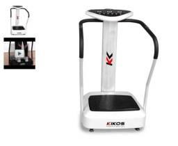 Plataforma Vibratória Residencial Kikos FitPlate Ix com 50 Velocidde + 2 anos de Garantia