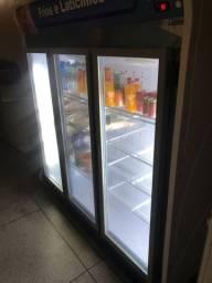 Refrigerador/ expositor vertical 3 portas
