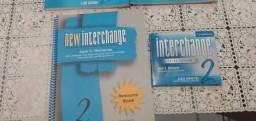 Livro + DVD interchange azul