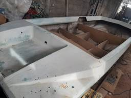 Barco Lancha casco para reforma em fibra 16 pés
