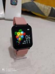 Relógio Inteligente Smartwatch  Titanium T82 em Promoção