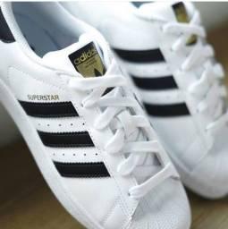 Tênis Adidas Superstar Premium Branco