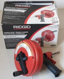 Desentupidora Manual Power Spin RIDGid