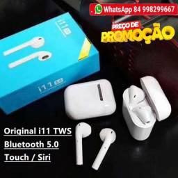 Fone De Ouvido Tws i11 Sem Fio Bluetooth 5.0 Touch Android e iPhone
