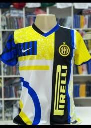 Camisa da Inter de Milão 2021 Lançamento