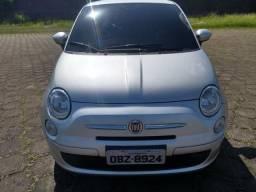 Fiat 500 1.4 completo 2012 prata Com 34 mil km. Rs 29.500 - 2012