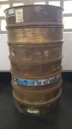 Conjunto de peneiras para granulometria