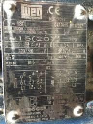 Motor WEG 15 CV 220-380V