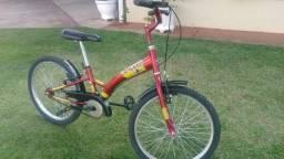 Bicicleta Smart Aro 20 Vermelha Vinho