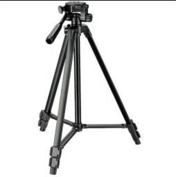 (NOVO) Tripé Universal Fotográfico Canon Nikon 1,50 Mts