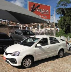 Toyota Etios Sedan 2018 1.5 X Branco Unico Dono Emplacado - 2018
