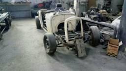 Ford Hotrod hiboy 1932