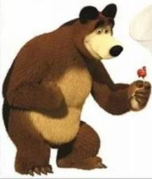 Desapego Displays tema Marsha e o Urso