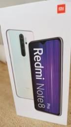 Xiaomi Redmi note 8 pró 6 giga de ram. 64 giga de memória interna