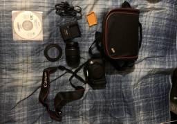 Canon 700D kit+case