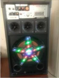 Amplificador NKS excelence semi novo 300 w