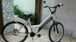 Bicicleta elétrica bike machine