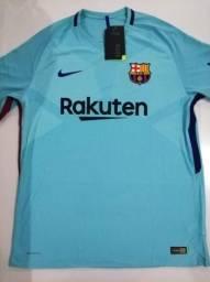 Camisa Barcelona Away 17 18 - Tam.  G 704b6ed2eb1b6