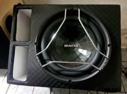 Super Subwoofer BRAVOX E2K + Caixa # 800 wRms