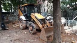 Retro escavadeira JCB 4x4 2010