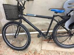 Vendo bicicleta. ( Sem cestinha e cadeirinha )