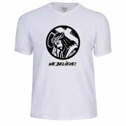 Camisetas cristãs estampadas