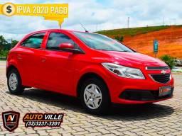 O mais Vendido do Brasil! Chevrolet Onix 1.0 LT Flex Completo*Muito Conservado - 2013