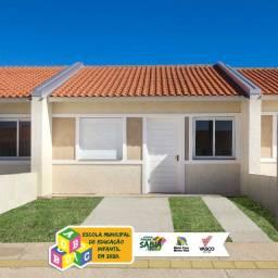 Utilize o FGTS e parcele a entrada em 36x? Casa de 2 dois dormitórios!