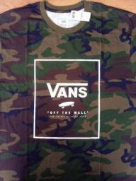 Camiseta Vans Camo