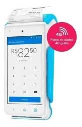 Maquininha Point Smart - A Máquina De Cartão Do Mercado Pago + Brinde