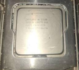 Processador Intel Core e7500 + Intel Celeron G1610