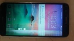 V/t LG k10 (2017) 32g Celular com defeito em tela