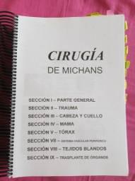 Livro cirugia de Michans + capítulos de Radiologia