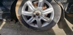 Jogo de rodas aro 19 audi q7 sem pneus