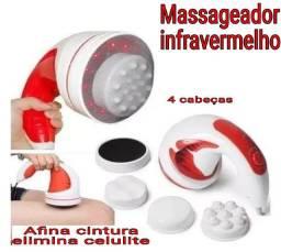 Massageador infravermelho celulite afina cintura