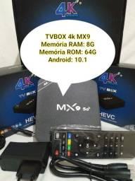 TV BOX 4K - GRÁTIS: Entrega e instalação! Entrego tambem Sábado, Domingo e Feriado!!!