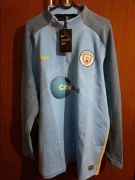 Agasalho Manchester City jogador Nike Aeroswift