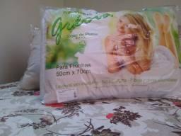Travesseiro Grécia fibra siliconada