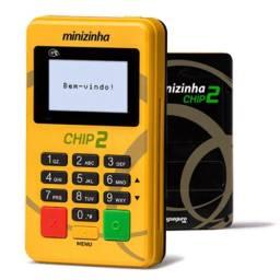 Minizinha Chip 2 maquininha de cartão nao precisa do celular