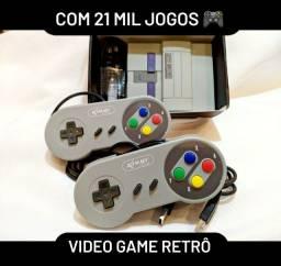 Video game Retrô com 21 mil jogos