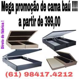 Cama baú a partir de R$ 399,00 !!!! Mega promoção!! Faça sua encomenda !