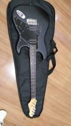 Kit Guitarra, Cubo, capa e Guitar Link + Brinde