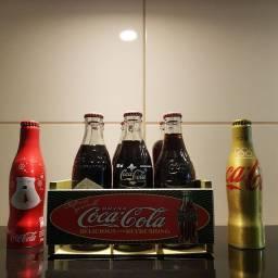 Garrafas Coca-Cola colecionáveis