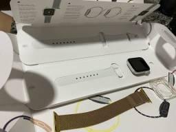 Apple Watch Series 5 - 44mm com apenas 45 dias de uso!