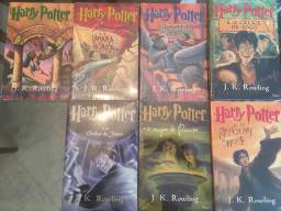 Coleção de livros do Harry Potter