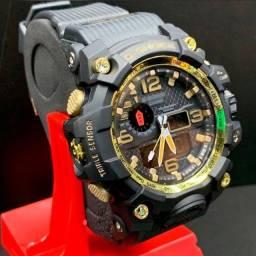 Relógio Masculino Mudmaster gwg-1000 Preto Shock