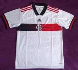 Camisa do Flamengo Branca (Disponível: GG)