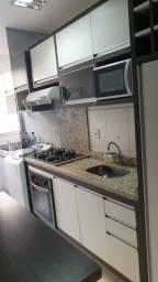 Alugo apt térreo mobiliado próximo à UFMS, 2 quartos e 2 banheiros